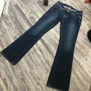 Lucky brand flare denim jeans